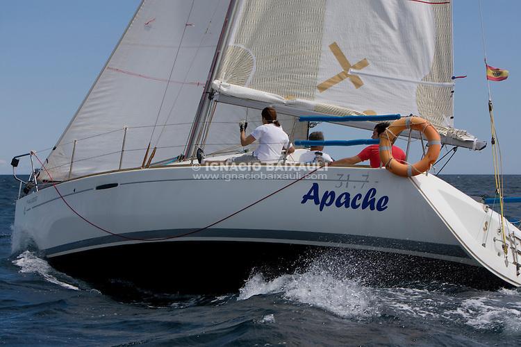 Apache .I REGATA CAP I CUA, Oliva-Canet d'en Berenguer. 6-7- Junio 2009