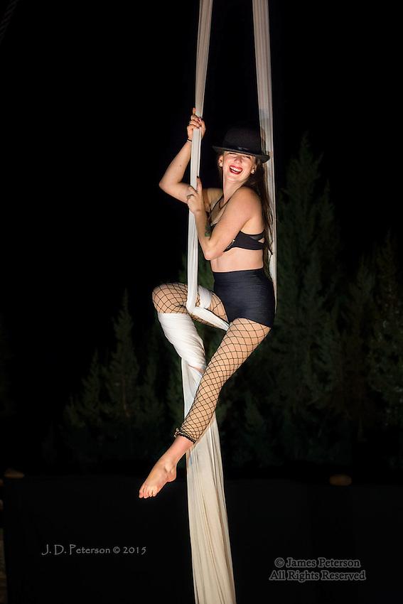 Mollie of Sedona Silks Aerial Dancers