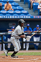April 25 2010: Starling Marte (15) of the Bradenton Marauders during a game vs. the St. Lucie Mets  at Digital Domain Park in Port St. Lucie, Florida. St. Lucie, the Florida State League High-A affiliate of the New York Mets, won the game against Bradenton, affiliate of the Pittsburgh Pirates, by the score of 5-4  Photo By Scott Jontes/Four Seam Images
