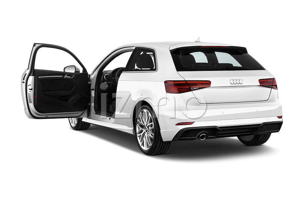 Car images of 2017 Audi A3 Sport 3 Door Hatchback Doors