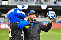 SAN JOSE, CA - MARCH 7: First kick during a game between Minnesota United FC and San Jose Earthquakes at Earthquakes Stadium on March 7, 2020 in San Jose, California.