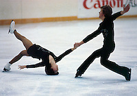 Penny Wilson and William Thompson Canada Canadian Championships 1981. Photo copyright Scott Grant
