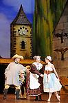 LA FILLE MAL GARDEE....Choregraphie : ASHTON Frederick..Compositeur : HEROLD Louis joseph Ferdinand..Compagnie : Ballet de l Opera National de Paris..Orchestre : Orchestre de l Opera National de Paris..Decor : LANCASTER Osbert..Lumiere : THOMSON George..Costumes : LANCASTER Osbert..Avec :..OULD BRAHAM Myriam..PHAVORIN Stephane..VALASTRO Simon..GUERRI Jean Christophe..Lieu : Opera Garnier..Ville : Paris..Le : 26 06 2009..© Laurent PAILLIER / www.photosdedanse.com..All rights reserved