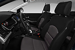 Front seat view of a 2017 Ssangyong Korando Quartz 5 Door SUV front seat car photos