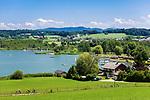 Oesterreich, Salzburger Land, Flachgau, Obertrum am Obertrumer See | Austria, Salzburger Land, region Flachgau, Obertrum at Lake Obertrum