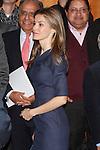 Princess Letizia of Spain attends the 'El Canon del Boom' literary congress at the Casa de America on November 5, 2012 in Madrid, Spain. .(ALTERPHOTOS/Harry S. Stamper)