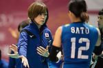 Head coach Kumi Nakada of Japan during the FIVB Volleyball World Grand Prix match between Japan vs Russia on 23 July 2017 in Hong Kong, China. Photo by Marcio Rodrigo Machado / Power Sport Images
