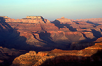 Sunset in the Grand Canyon.