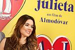 Spanish actress Adriana Ugarte attends the photocall of presentation of the Pedro Almodovar's new film 'Julieta'. April 4, 2016. (ALTERPHOTOS/Acero)