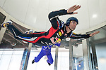 Filming of the 2nd Infiniti's Inspired Performers' series with Red Bull Racing driver Mark Webber and top skydiver Jon DeVore on June 06, 2012 in Montreal. Photo by Victor Fraile / The Power of Sport Images for Prism/Infiniti