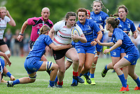 24 August 2019; Ava Fannin during the Under 18 Girls Interprovincial Rugby Championship match between Ulster and Leinster at Armagh RFC in Armagh. Photo by John Dickson / DICKSONDIGITAL