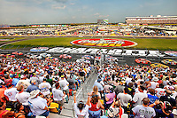 The May 2011 NASCAR Sprint All-Star Race Coca-Cola 600 at the Charlotte Motor Speedway in Concord, NC.