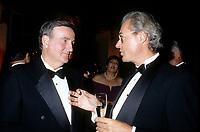 Le maire Pierre Bourque et Pierre Pettigrew, Octobre 1996<br /> <br /> (il fut maire de Montreal de 1995 a 2001)