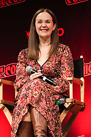 """NEW YORK CITY - OCTOBER 10: Director Yana Gorskaya attends a 2021 New York Comic Con event for FX's """"What We Do In The Shadows"""" at the Javits Center on October 10, 2021 in New York City.  (Photo by Ben Hider/FX//PictureGroup)"""