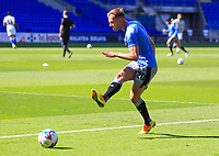 12th September 2020; Cardiff City Stadium, Cardiff, Glamorgan, Wales; English Championship Football, Cardiff City versus Sheffield Wednesday; Jordan Rhodes of Sheffield Wednesday warms up before the match