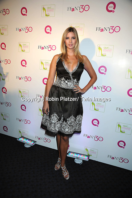"""Ivanka Trump attending The QVC Presents """"FFANY Shoes on Sale"""" at Frederick P Rose Hall, Home of Jazz at Lincoln Center on October 13, 2010 in New York City."""