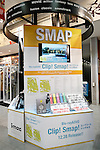An exhibit space for the SMAP's new album SMAP 25 YEARS at the Tsutaya store in Shibuya on December 22, Tokyo, Japan. Japan's most popular boy band announced that they would split by the end of the year, and the special album includes 50 of the band's songs as selected by fans. (Photo by Rodrigo Reyes Marin/AFLO)