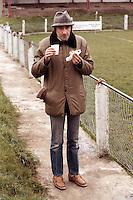 Barking fans are seen at Carshalton Athletic Football Club - circa 1989 - MANDATORY CREDIT: Gavin Ellis/TGSPHOTO - Self billing applies where appropriate - Tel: 0845 094 6026