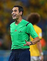 Referee Carlos Carballo