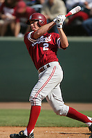 April 3 2010: Adam Gaylord of the Stanford Cardinal during game against the UCLA Bruins at UCLA in Los Angeles,CA.  Photo by Larry Goren/Four Seam Images