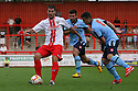 Dani Lopez of Stevenage evades Jamie Sandles-White of QPR<br />   Stevenage v QPR XI - Pre-season friendly - Lamex Stadium, Stevenage - 16th July, 2013<br />  © Kevin Coleman 2013<br />  <br /> <br />  <br />  <br /> <br />  <br />  © Kevin Coleman 2013