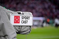 19.05.2018, Football DFB-Pokal Finale 2018, FC Bayern Muenchen - Eintracht Frankfurt, Olympiastadium in Berlin. Fernsehkamera Fa. Sportcast Spielfeldrand. *** Local Caption *** © pixathlon<br /> <br /> Contact: +49-40-22 63 02 60 , info@pixathlon.de