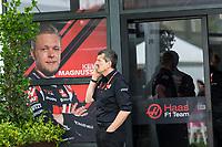 13th March 2020; Melbourne Grand Prix Circuit, Melbourne, Victoria, Australia; Formula One, Australian Grand Prix, Practice Day; Haas team boss Guenther Steiner