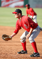 Nick Farnsworth / AZL Angels playing against the AZL Mariners at Tempe Diablo Stadium - 08/02/2008..Photo by:  Bill Mitchell/Four Seam Images