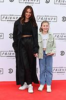 Lou Teasdale and daughter, Lux<br /> arriving for FriendsFest 2021, Clapham Common, London.<br /> <br /> ©Ash Knotek  D3567 24/06/2021