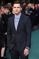 "Nicholas Hoult<br /> arriving for the ""TOLKIEN"" premiere at the Curzon Mayfair, London<br /> <br /> ©Ash Knotek  D3499  29/04/2019"