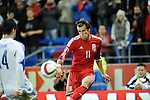 UEFA European Championship at Cardiff City Stadium - Wales v Cyprus : <br /> Gareth Bale of Wales in action in the second half.