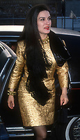 1992 FILE PHOTO<br /> New York, NY<br /> Paloma Picasso<br /> Photo by Adam Scull-PHOTOlink