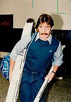 1985 FILE PHOTO - ARCHIVES -<br /> <br /> Ex-Leaf Derlago moves to Quebec.<br /> <br /> 1985<br /> <br /> PHOTO :  Frank Lennon - Toronto Star Archives - AQP