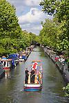 United Kingdom, London: Regent's Canal viewed from Warwick Avenue | Grossbritannien, England, London: Blick von der Warwick Avenue auf den Regent's Canal