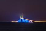 Sunshine Skyway Bridge | HLB Lighting