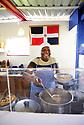 Venecia Gonzalez of El Recoqueo D.R. serves food from the Dominican Republic like this Sancocho soup at the Westbank Nawlins Flea Market.