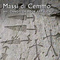 Pictures of Prehistoric Rock Carvings - Massi di Cemmo  - Valcamonica, Italy