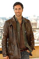 "RAOUL BOVA.Photocall for ""Milano-Palermo: il ritorno"", Rome, Italy..November 15th, 2007.half length brown leather jacket stubble facial hair.CAP/CAV.©Luca Cavallari/Capital Pictures."