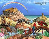 Randy, EASTER RELIGIOUS, OSTERN RELIGIÖS, PASCUA RELIGIOSA, paintings+++++Noah's-Ark,USRW124,#ER#