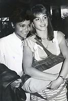Cindy Gibb & Janet Jackson 1978<br /> Photo By John Barrett-PHOTOlink.net / MediaPunch
