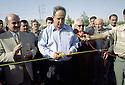 Irak 2002.Inauguration d'un tronçon de route à Duhok.Iraq 2002.Opening of a road's section in Duhok