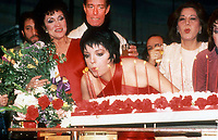 1978 FILE PHOTO<br /> New York, NY<br /> Liza Minnelli at Studio 54<br /> Photo by Adam Scull-PHOTOlink.net