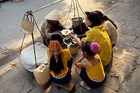 Garküche in Hanoi, Vietnam