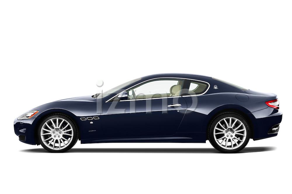 Driver side profile view of a 2010 Maserati Granturismo S Automatic Coupe