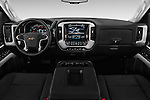 Stock photo of straight dashboard view of 2016 Chevrolet Silverado-3500HD LT-Crew-SRW 4 Door Pickup Dashboard