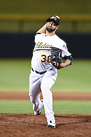 Mesa Solar Sox pitcher Drew Granier (30) during an Arizona Fall League game against the Surprise Saguaros on October 10, 2014 at Cubs Park in Mesa, Arizona.  Surprise defeated Mesa 14-3.  (Mike Janes/Four Seam Images)