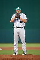 Daytona Tortugas pitcher Sal Romano (30) gets ready to deliver a pitch during a game against the Fort Myers Miracle on June 17, 2015 at Hammond Stadium in Fort Myers, Florida.  Fort Myers defeated Daytona 9-5.  (Mike Janes/Four Seam Images)