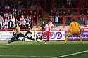 Darius Charles of Stevenage shoots wide<br />  - Stevenage v Leyton Orient - Sky Bet League 1 - Lamex Stadium, Stevenage - 17th August, 2013<br />  © Kevin Coleman 2013