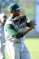 Fort Wayne TinCaps Wande Olabisi during a game vs. the West Michigan Whitecaps at Fifth Third Field in Comstock Park, Michigan August 18, 2010.   Fort Wayne defeated West Michigan 5-1.  Photo By Mike Janes/Four Seam Images