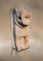 Hittite monumental relief sculpture of a lion. Adana Archaeology Museum, Turkey.